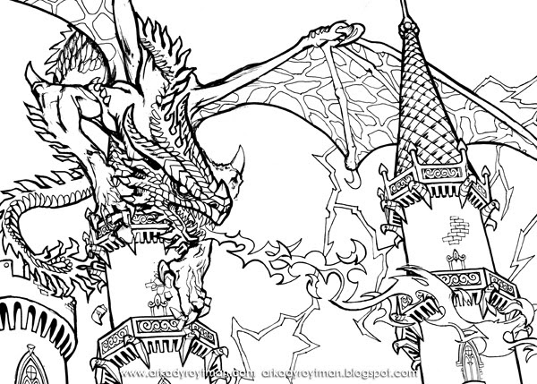 Download Announcing Realisticgon Coloring Pages With Astounding ... | 429x600