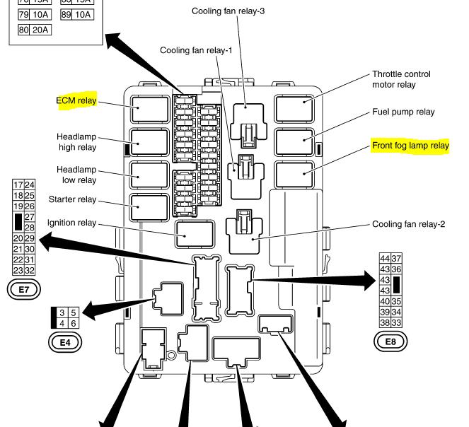 2007 350z Fuse Box Wiring Diagram Permanent A Permanent A Emilia Fise It