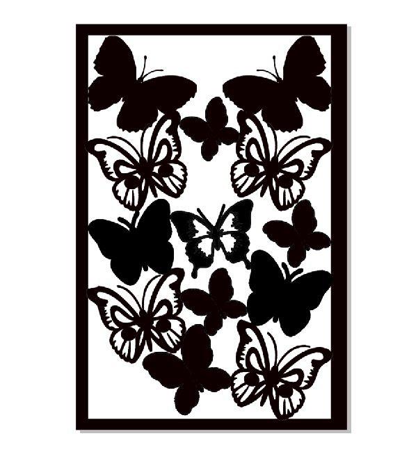 butterfly plate 2 100 X 150 MIN BUY 3