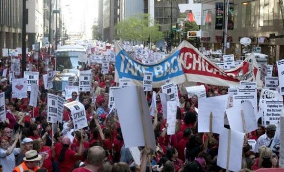 protesta-de-profesores-en-chicago