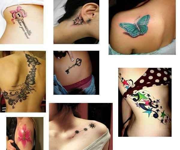 Tatuajes Para Mujeres Lindos Tatuajesparacom