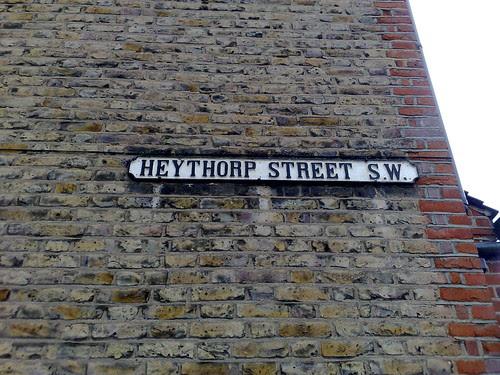 Ricky's own street