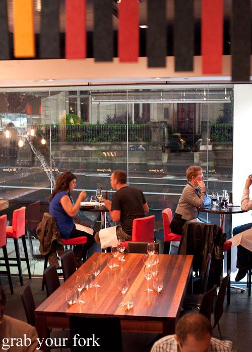 New front bar area at Fix St James, Sydney