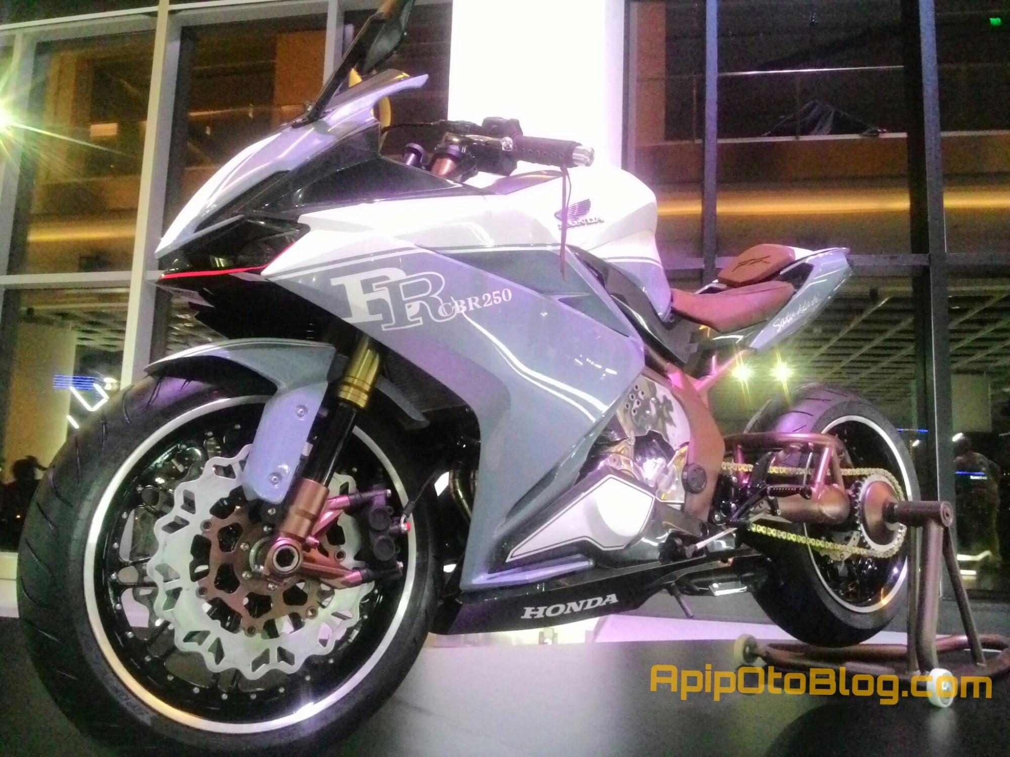 Modifikasi Honda CBR250RR Garapan BMS Warna Halus Nan Elegan