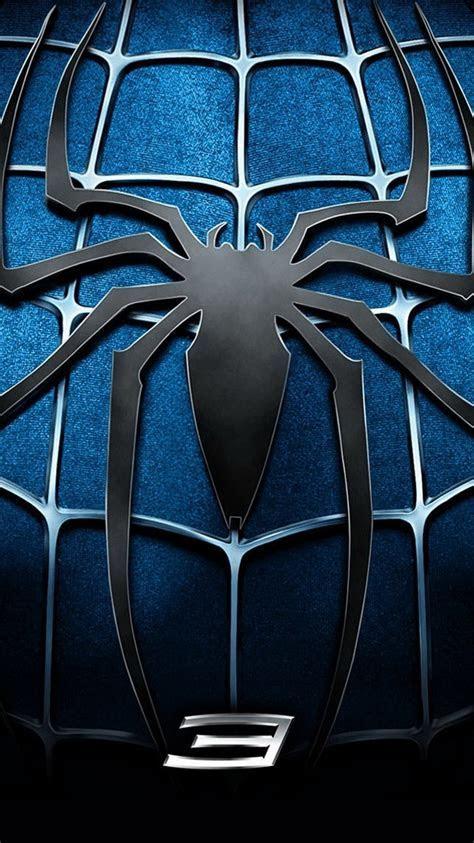 Spider Man 3 Blue Chest Logo iPhone 6 Wallpaper HD   Free