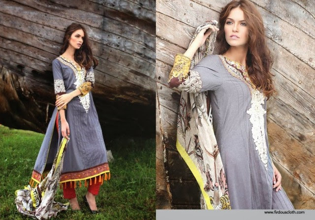 Women-Girls-Fall-Winter-Dress-2013-14-Exclusive-Winter Suits-by-Firdous-Clothes-5