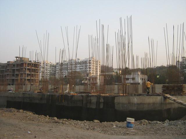 Plinth of Lohia Jain Group's Riddhi Siddhi, 2 BHK & 3 BHK Flats at Bavdhan Khurd, Pune 411 021