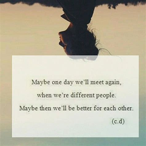 We Will Meet One Day Quotes