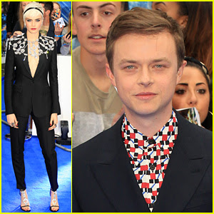 Cara Delevingne & Dane DeHaan Take 'Valerian' to London!