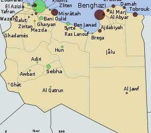 Libye, le plan de la conquête