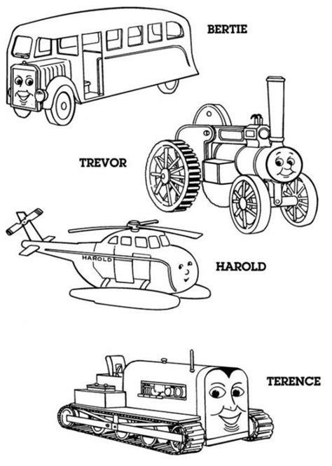 40 Free print- Thomas The Train Coloring Pages | Train