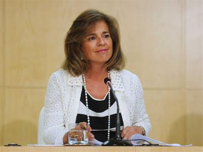 La alcaldesa de Madrid, Ana Botella. EUROPA PRESS