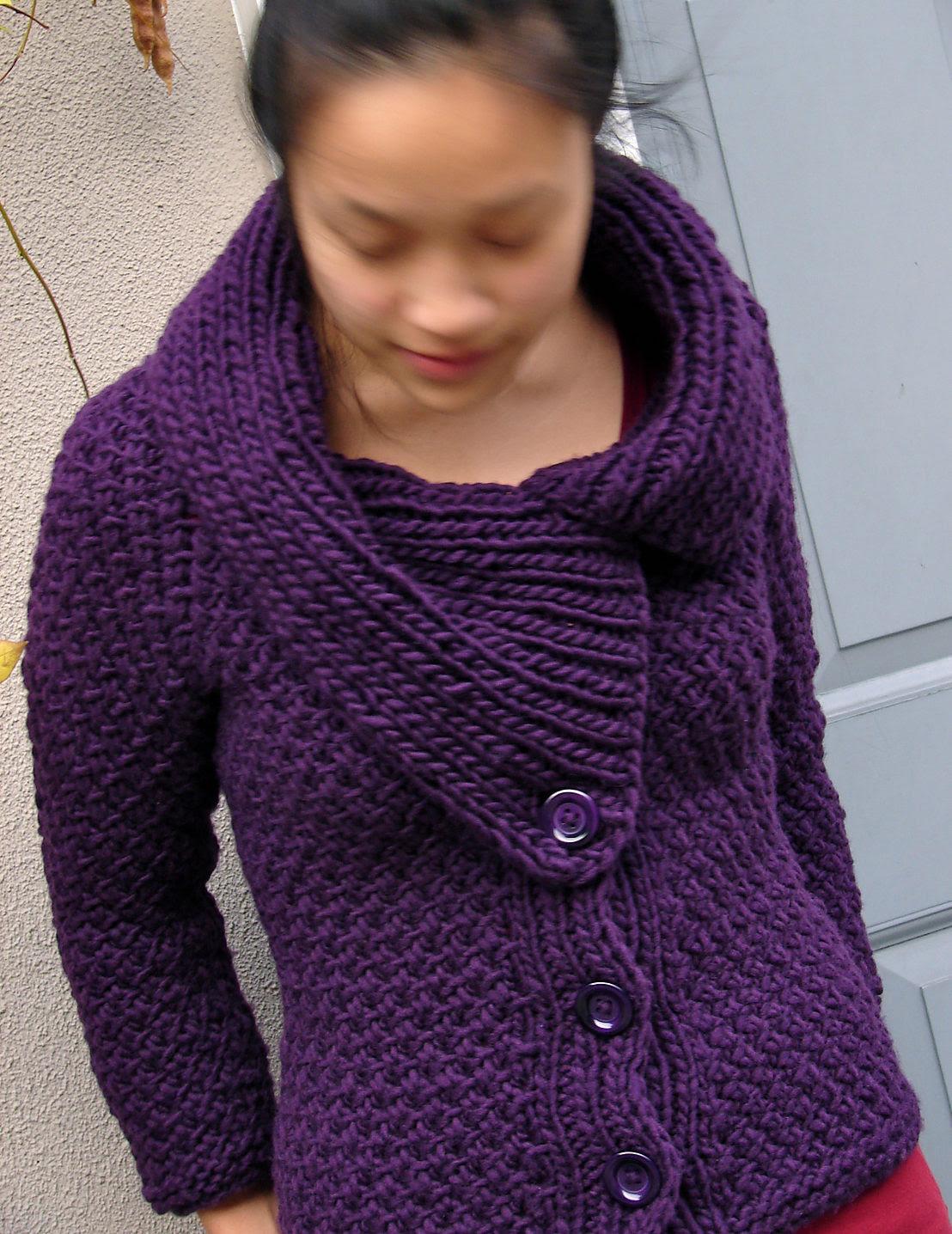 Free Knitting Pattern for Jacqueline Jacket
