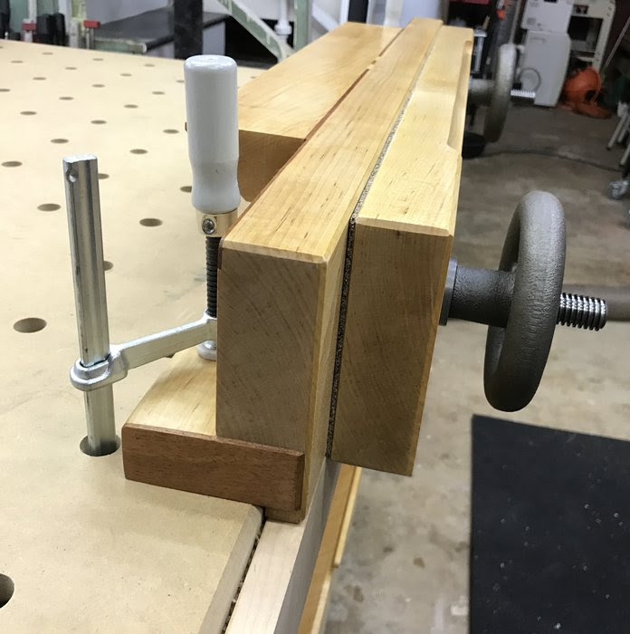 Maple Moxon Vise and