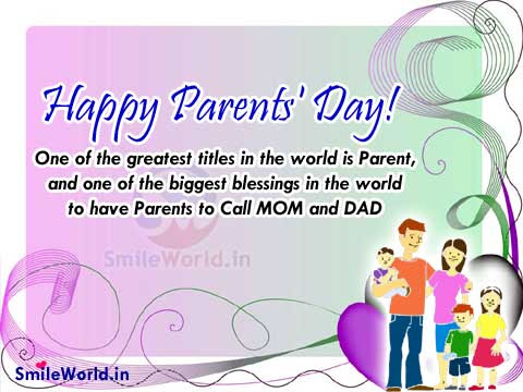 Happy Parents Day Quotes And Sayings Images For Facebook