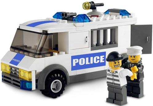 lego police van