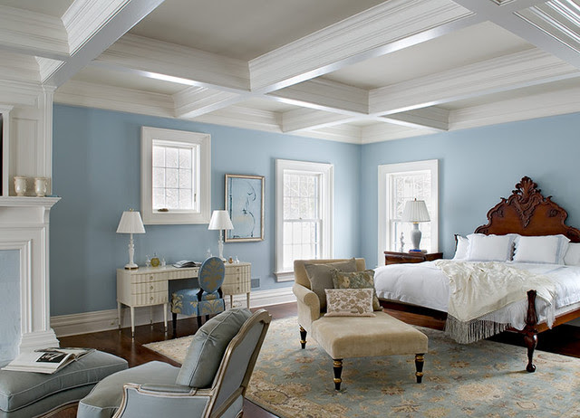 traditional bedroom by Crisp Architects