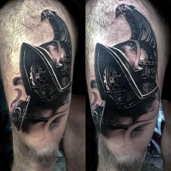 Valiant Gladiator Tattoo Designs (27)