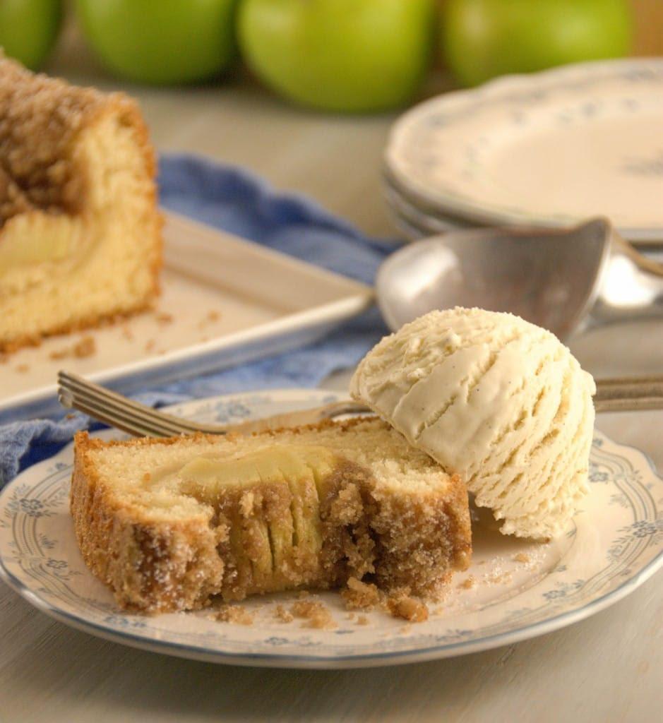 Apple Kuchen 1 939x1024 Apfelkuchen ( Bavarian Apple Cake) for #TwelveLoaves