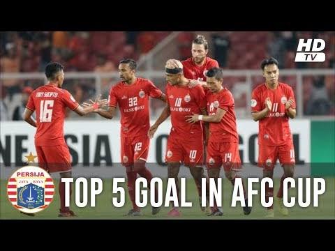 5 Gol Terbaik Persija Jakarta di AFC Cup