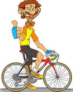 Resultado de imagem para bebado bicicleta