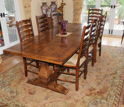 Ladder Back Dining Room Chairs