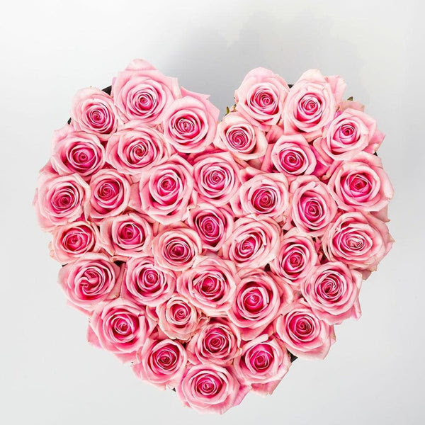 Comprar Rosas Frescas De Color Rosa Con Entrega En Madrid Mejor