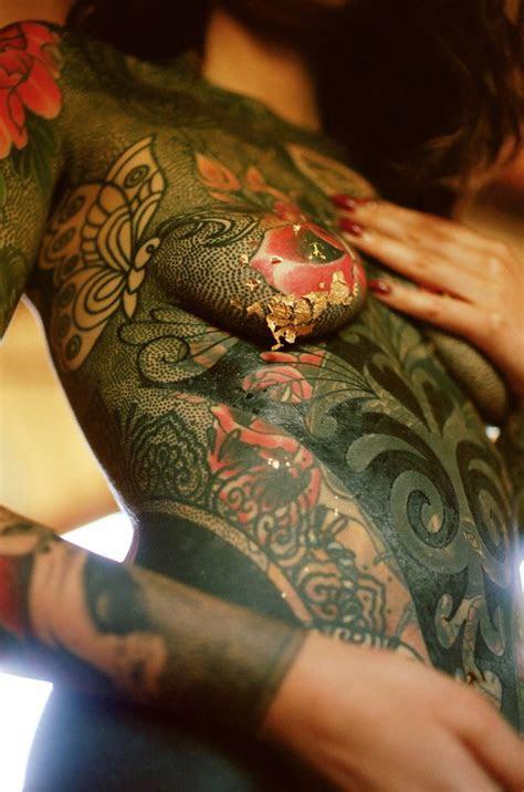 nikutai celine noor tattooed women full body