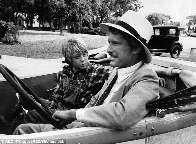 Um grande filme para uma criança: Em 1974 ela fez Paper Moon com o ator Christopher Connelly