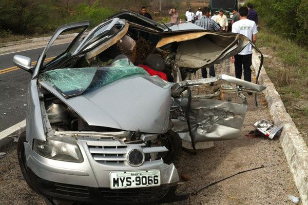O acidente deixou o trânsito lento nas proximidades do km 217 da BR-304, entre Caiçara do Rio dos Ventos e Riachuelo
