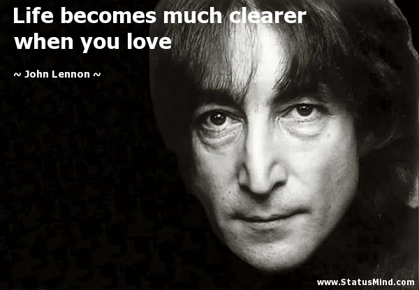 Life Becomes Much Clearer When You Love Statusmind Com