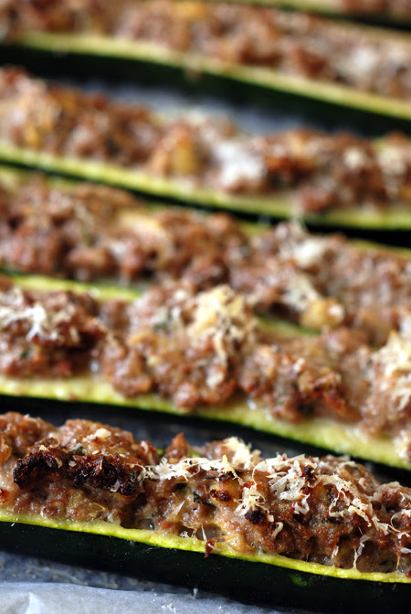 stuffed zucchini© by Haalo