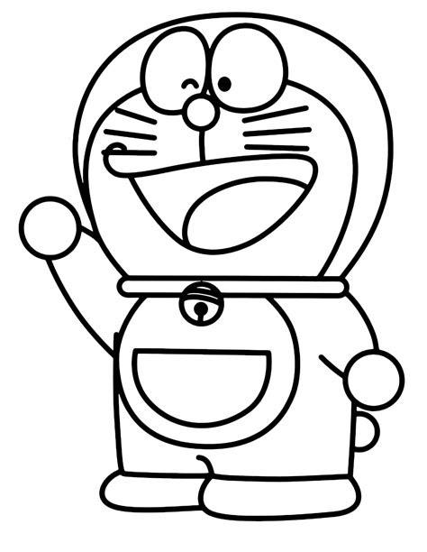 sketsa gambar kartun doraemon  nobita keren bestkartun