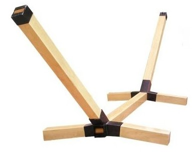 Sany Wildan Diy Wood Hammock Chair Stand