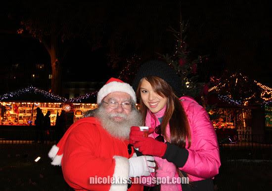 nicolekiss and santa