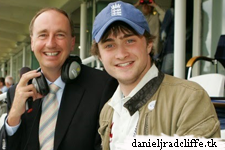 Updated(2): Daniel Radcliffe on BBC's Test Match Special