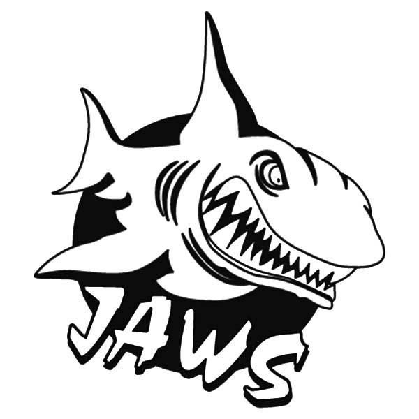 Movie Poster Jaws Coloring Pages | Best Place to Color