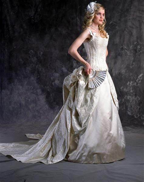 Marie Antoinette Corset Wedding Dress   Wedding