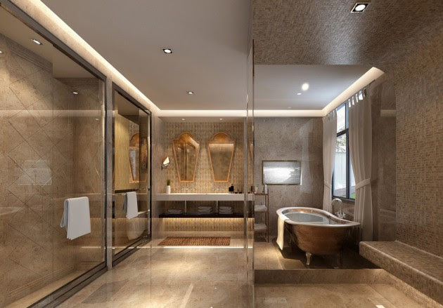17 Extravagant Bathroom Ceiling Designs That Youll Fall In Love