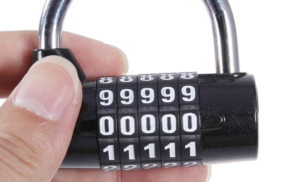 Populair Kopen Goedkoop Codeslot 4 Digit 5 Cijferige Wachtwoord GW35