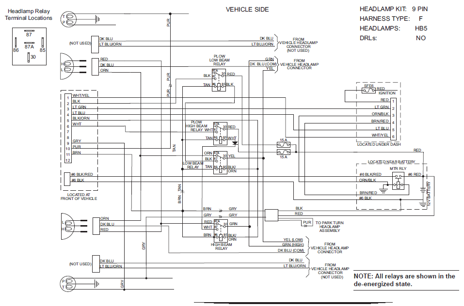 Ford F550 Wiring