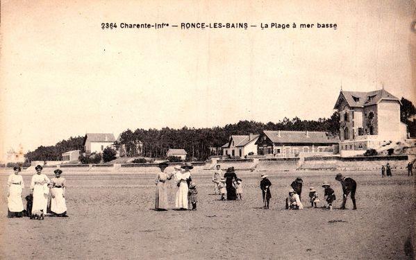 A droite, la villa Beauséjour qui fête cette année son c