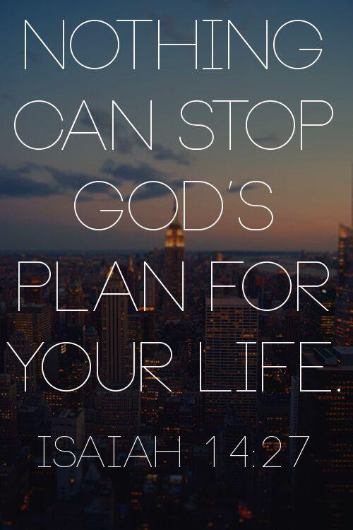 Nothing Can Stop Gods Plan For Your Life Pictures Photos And