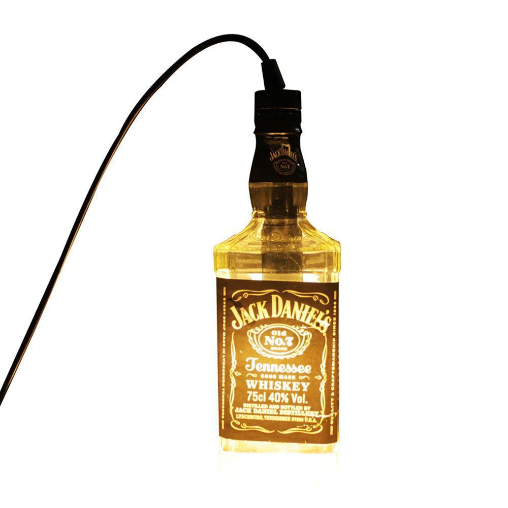 led pendant lamp transparent jack daniels
