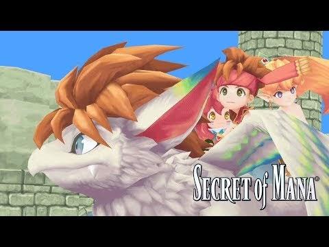إعلان سكوير اينكس عن النسخة المعادة من لعبة Secret of Mana لأجهزة الحاسب الشخصي و سونى