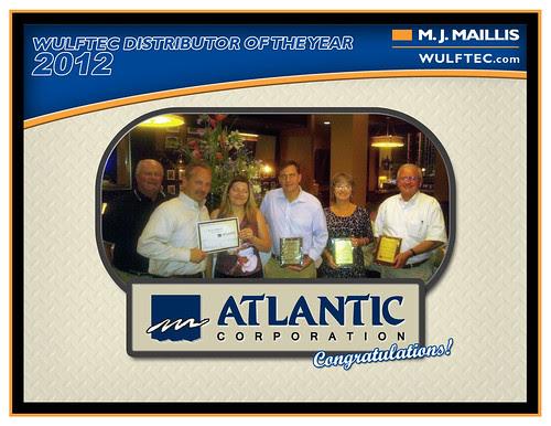 Atlantic Corporation - Distributor of the year