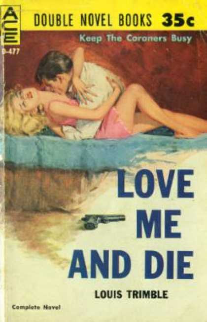 Image result for love me and die pulp cover