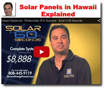 Solar Power Battle Puts Hawaii at Forefront of Worldwide Changes