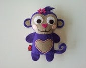 HartFelt Monkey Softie by iHart