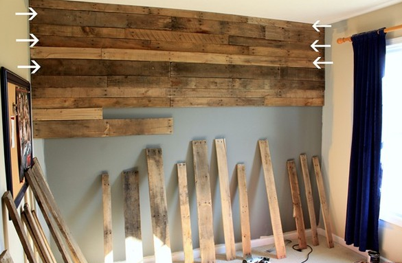 Awesome Wood Pallet Wall How It Could Have Killed Me